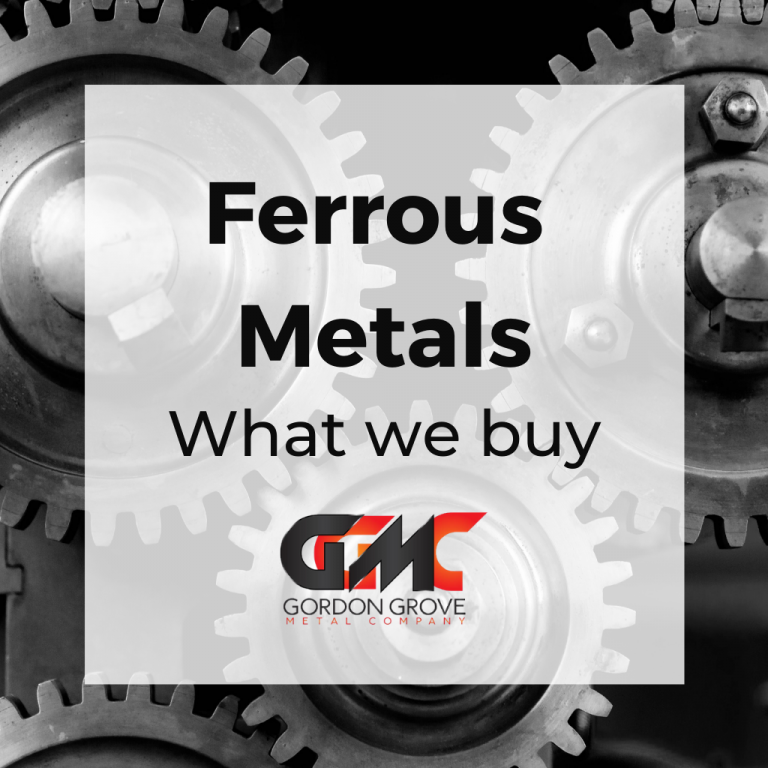 Ferrous metals - what we buy