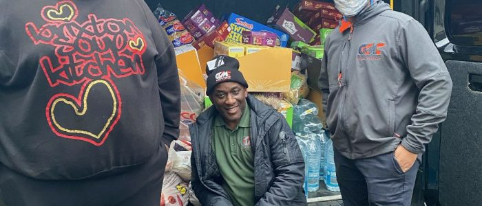 GGMC delivers food and essentials to Brixton Soup Kitchen